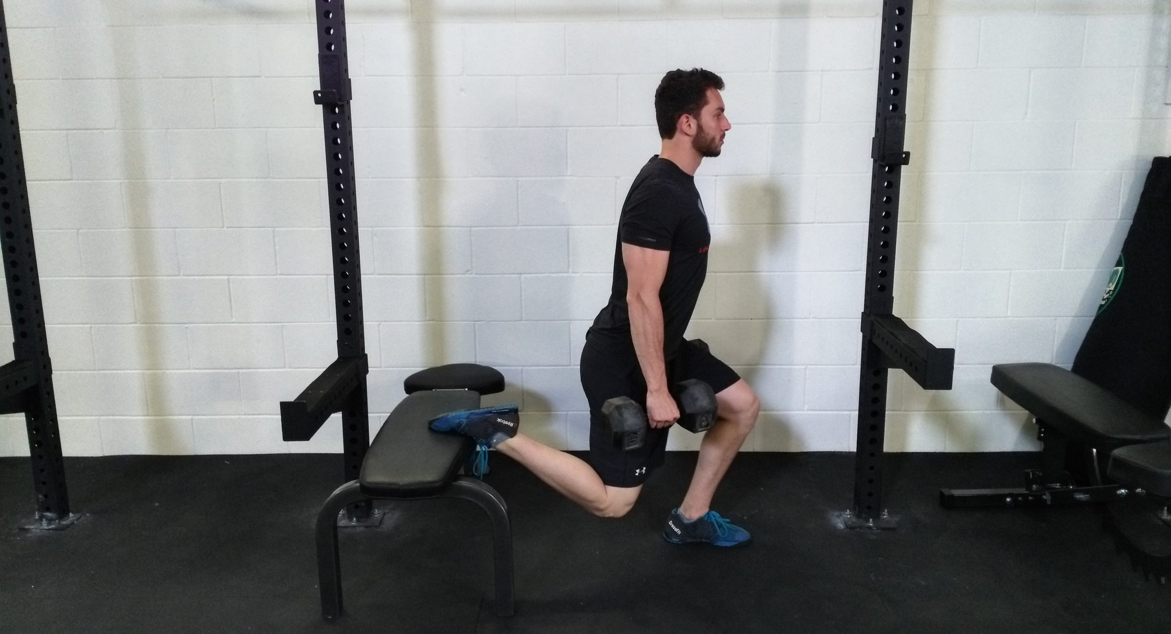 Personal Training, Athlete Training, Grit Strength and Conditioning Bracebridge, One leg squat