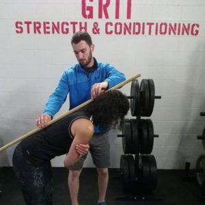 Spine alignment, personal training, bracebridge, muskoka, grit strength and conditioning
