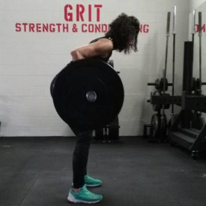 Bent over row, row, barbell row, gym, crossfire, bracebridge, grit strength and conditioning