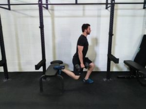 Athlete, Split Squat, Legs, Lower body Training, split squat, grit strength and conditioning bracebridge, gym bracebridge